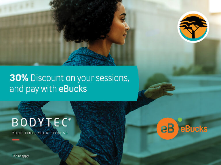 Bodytec   BODYTEC and FNB join forces to make fitness more